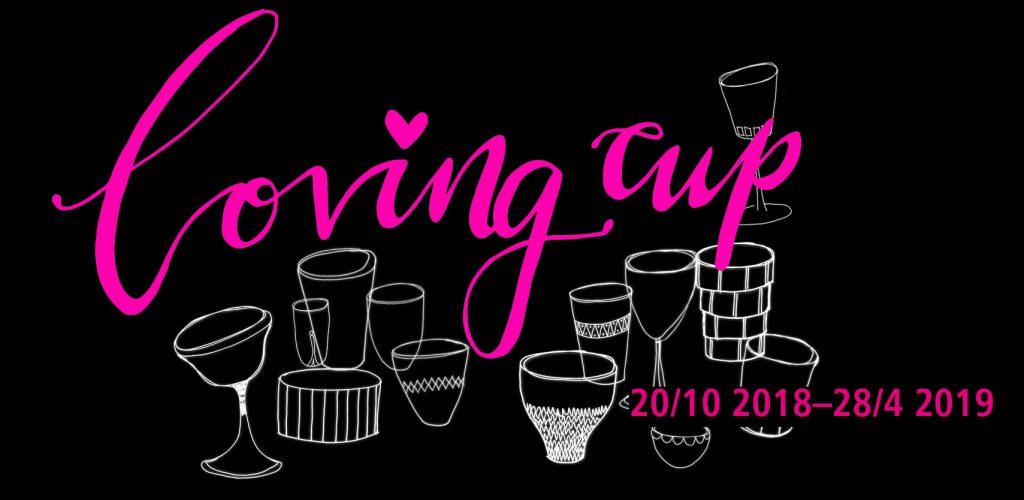Affischbild för utställningen Loving Cup