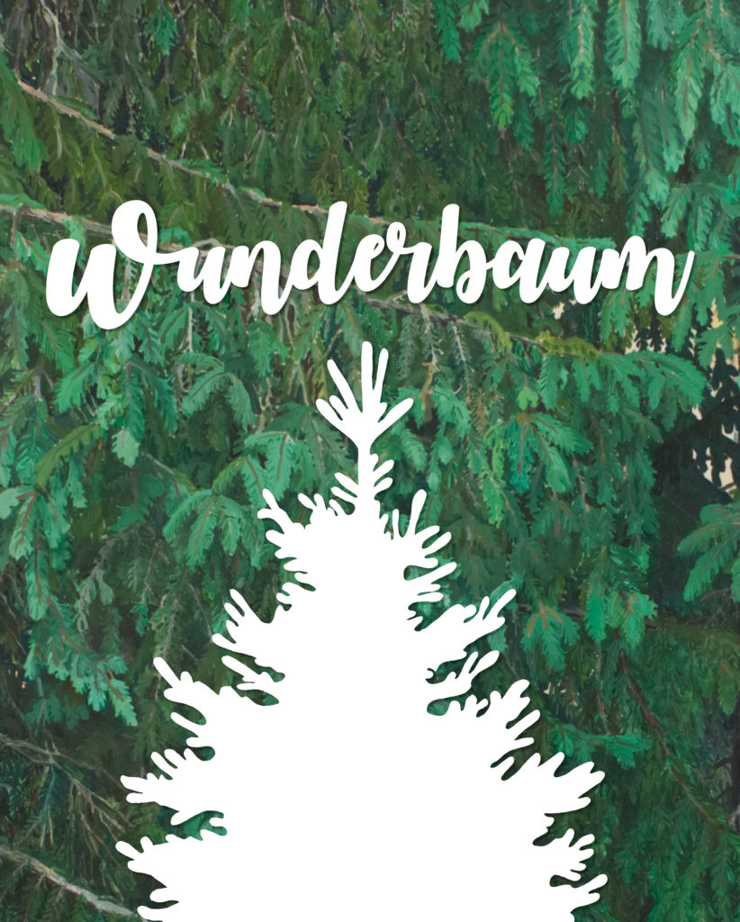 Wunderbaum utställningsaffisch